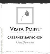 Vista Point Cabernet Sauvignon 750ml - Case of 12
